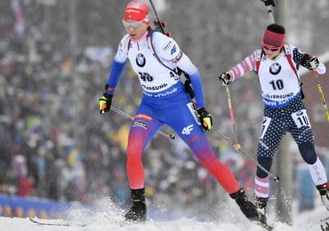 MŚ w biathlonie: Dalekie miejsca Polek, złoto Kuzminy