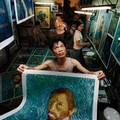 Chińskie van Goghi