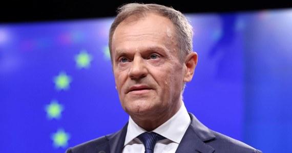 """Szef Rady Europejskiej Donald Tusk zapowiedział, że zwróci się do szefów 27 państw i rządów Unii Europejskiej, aby byli otwarci na """"długie"""" przedłużenie rozmów w sprawie wyjścia Wielkiej Brytanii z UE."""