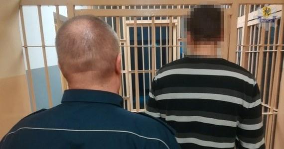Sześć zarzutów usłyszał 41-letni Bogusław K. - zatrzymany w tym tygodniu przez policjantów z Lęborka na Pomorzu. Mężczyzna przez 11 lat poszukiwany był listami gończymi i Europejskim Nakazem Aresztowania w sprawie - między innymi - dwukrotnego gwałtu.