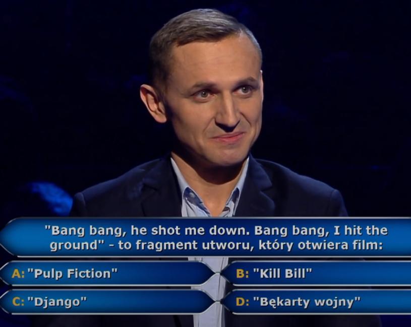 """Po niedawnym milionie zł dla Katarzyny Kant-Wysockiej kolejni gracze próbują szczęścia w programie """"Milionerzy""""."""