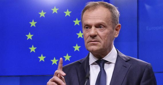 Możliwe jest krótkie wydłużenie procesu wyjścia Wielkiej Brytanii z UE, jednak warunkowo w oparciu o pozytywny wynik głosowania nad porozumieniem rozwodowym w Izbie Gmin - oświadczył przewodniczący Rady Europejskiej Donald Tusk. Dziś brytyjska premier Theresa May wysłała do Tuska list z wnioskiem o wydłużenie wyjścia Wielkiej Brytanii z UE do 30 czerwca.