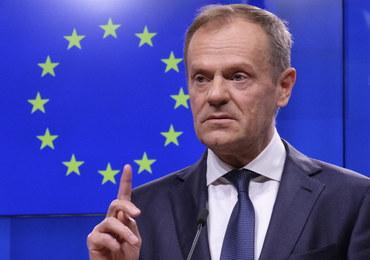 """Donald Tusk zgadza się na opóźnienie brexitu. Jest jednak """"ale"""""""