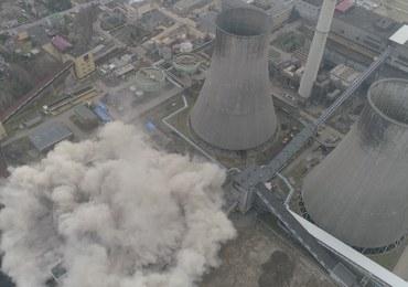 Wybuch kontrolowany w Będzinie-Łagiszy