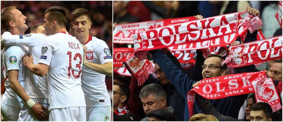 Po zwycięstwach w niedzielę nad Łotwą 2:0 i w czwartek nad Austrią 1:0 polscy piłkarze - z kompletem sześciu punktów - przewodzą tabeli grupy G eliminacji Euro 2020! W innych niedzielnych spotkaniach polskiej grupy Izrael pokonał Austrię 4:2, a Słowenia zremisowała z Macedonią Północną 1:1.