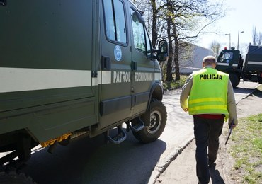 Koniec akcji saperów w Policach. Zakłady wznowiły produkcję