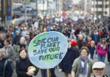 Bruksela: Tysiące osób wzięło udział w marszu klimatycznym