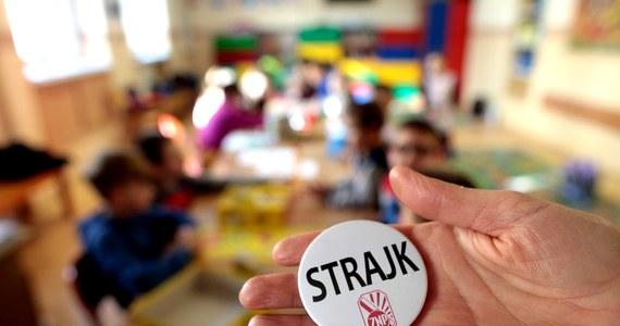 Protest nauczycieli. Pierwszy dzień strajku [na żywo]