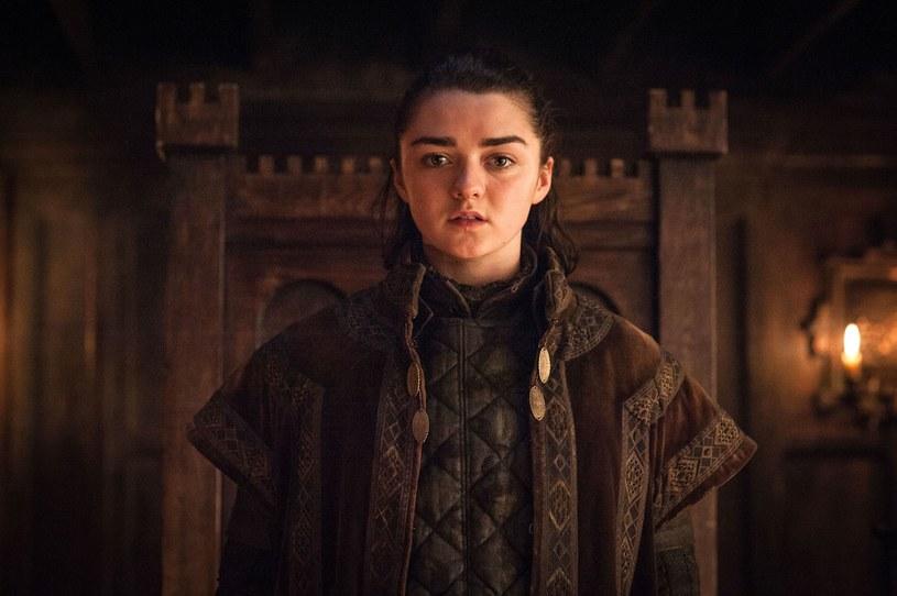 """Już 14 kwietnia na ekrany powróci """"Gra o tron"""". Fani serialu już nie mogą doczekać się emisji ostatniego sezonu produkcji. Jak na razie, pewne sugestie co do rozwoju wydarzeń daje brytyjska aktorka Maisie Williams, w serialu wcielająca się w Aryę Stark."""