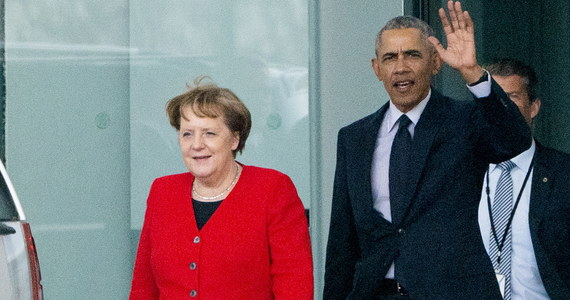 """Niemiecki tabloid """"Bild"""" krytykuje kanclerz Angelę Merkel ze spotkanie z byłym prezydentem USA Barackiem Obamą. Jest ono interpretowane jako demonstracja niechęci wobec obecnego amerykańskiego przywódcy - Donalda Trumpa."""