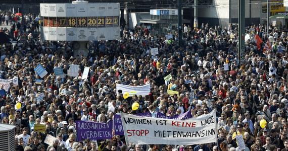 Niemcy: Protesty przeciwko rosnącym czynszom