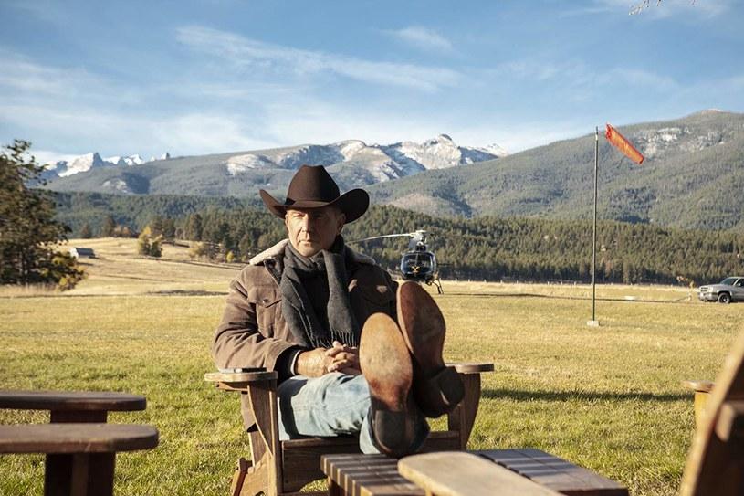 """Już w niedzielę, 7 kwietnia, wieczorem na antenie Paramount Channel pojawi się serial """"Yellowstone"""" z Keviem Costnerem w roli głównej."""