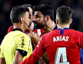 Primera Division. Diego Costa obraził matkę sędziego w czasie meczu z Barceloną