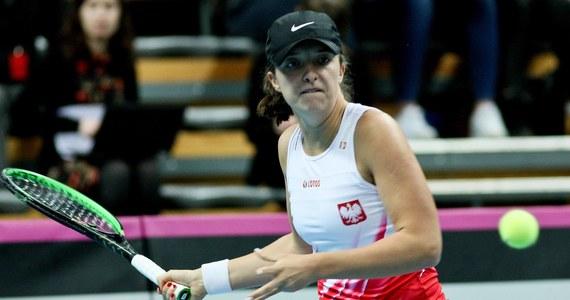 Iga Świątek stanie dziś przed szansą na pierwszy w karierze triumf w zawodach WTA. Niespełna 18-letnia polska tenisistka w finale w Lugano zagra z 10 lat starszą Słowenką Poloną Hercog.