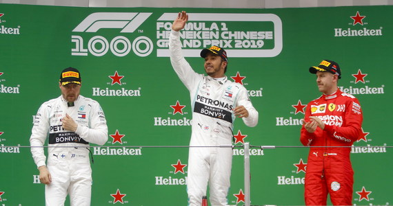Broniący tytułu Brytyjczyk Lewis Hamilton (Mercedes GP) zwyciężył po raz 75. w swojej karierze. Ostatni na mecie wyścigu w Szanghaju był Robert Kubica (Williams), który ukończył rywalizację na 17. miejscu.