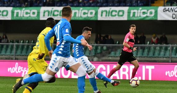 Arkadiusz Milik zdobył bramkę po podaniu Piotra Zielińskiego, a ich Napoli pokonało na wyjeździe Chievo 3:1 w 32. kolejce włoskiej ekstraklasy piłkarskiej. Ostatnia w tabeli drużyna z Werony, w której zagrał Mariusz Stępiński, a zabrakło Pawła Jaroszyńskiego, spadła z ligi.