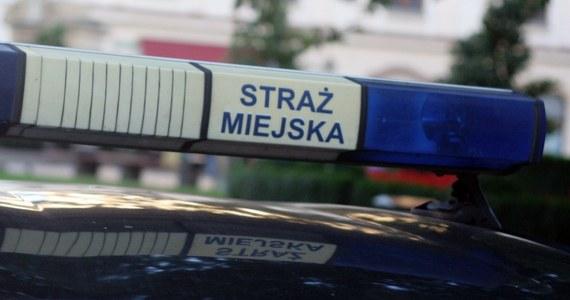 Krakowscy strażnicy miejscy zatrzymali mężczyznę, który wymachiwał na ulicy przedmiotem przypominającym pistolet. Prawdopodobnie był też pod wpływem środków odurzających.