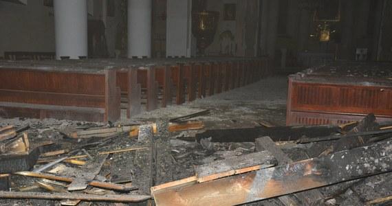 Dziewięcio-piszczałkowe organy z XVIII wieku spłonęły doszczętnie we wczorajszym pożarze kościoła w Gołańczy koło Wągrowca w Wielkopolsce. Straty w świątyni szacowała specjalna komisja.