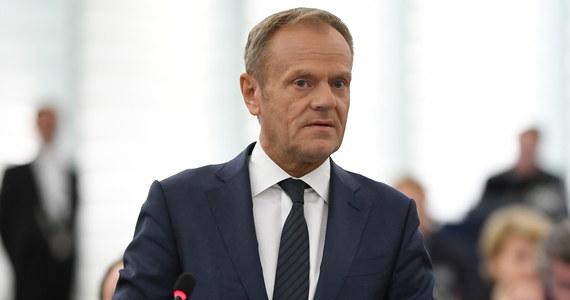 Żeby wejść do strefy euro, trzeba prowadzić odpowiedzialną politykę finansową, więc póki co nie ma tematu - ocenił w czwartek były premier, szef Rady Europejskiej Donald Tusk.