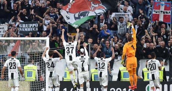 """Juventus Turyn - ósmy raz z rzędu - mistrzem Włoch! Piłkarze """"Starej Damy"""" zapewnili sobie tytuł na pięć kolejek przed końcem sezonu, pokonując przed własną publicznością Fiorentinę 2:1."""