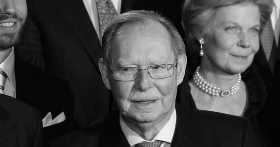 Nie żyje były władca Luksemburga Jan (Jean) - poinformował we wtorek jego syn i następca Henryk (Henri). Popularny wśród poddanych były wielki książę Luksemburga w ostatnim czasie trafił do szpitala w związku z chorobą płuc. Miał 98 lat.