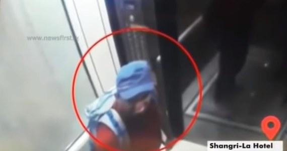 Media dotarły do nagrań monitoringu z hotelu Shangri-La na Sri Lance, gdzie wysadziło się dwóch zamachowców-samobójców.