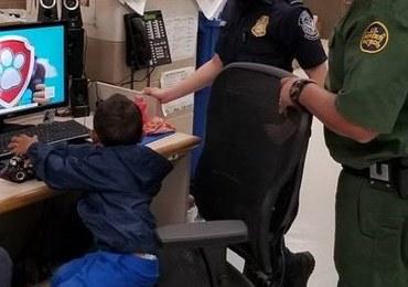 3-letni chłopiec w polu kukurydzy. Porzucili go nielegalni imigranci?
