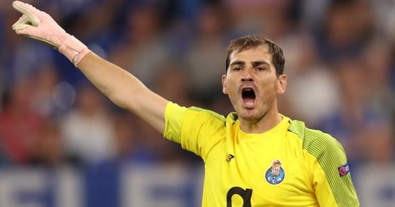 37-letni bramkarz FC Porto Iker Casillas miał zawał serca. Przebywa w szpitalu – informują portugalskie media. Piłkarz źle się poczuł podczas treningu FC Porto.