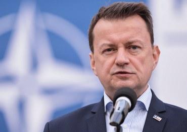 Błaszczak o Tusku: Maska opadła - po raz kolejny