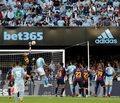 Liga hiszpańska - 36. kolejka Primera Division: Real Club Celta de Vigo - FC Barcelona 2-0 (0-0)