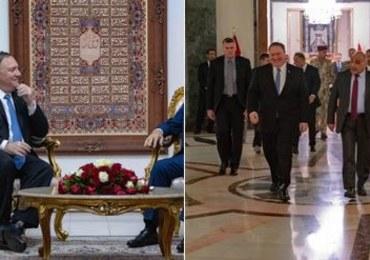 Niezapowiedziana wizyta szefa dyplomacji USA w Bagdadzie