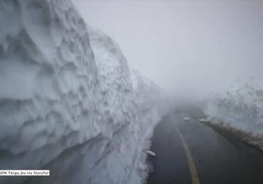 Środek maja, a w Rumunii śnieg jak na Boże Narodzenie