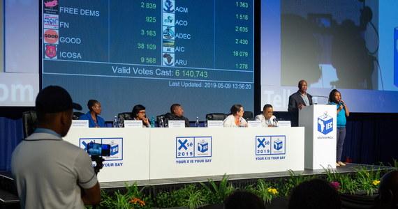 Afrykański Kongres Narodowy (ACN) wygrał środowe wybory parlamentarne, ale uzyskany przez to ugrupowanie wynik będzie najsłabszy od 1994 r. - wynika z rezultatów podanych po podliczeniu 72 proc. głosów. Na ACN głosowało 57 proc. uczestników głosowania.