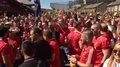 Fani Liverpoolu celebrowali wicemistrzostwo i czekają na finał Ligi Mistrzów. Wideo