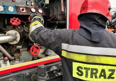 Pożar pustostanu w Rybniku. Nie żyje bezdomny