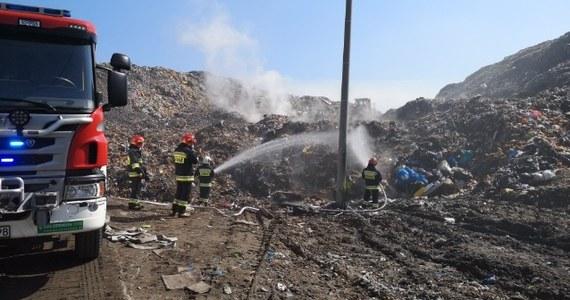 Pożar składowisko odpadów w małopolskich Brzeszczach pod Oświęcimiem. Informację dostaliśmy na Gorącą Linię RMF FM.