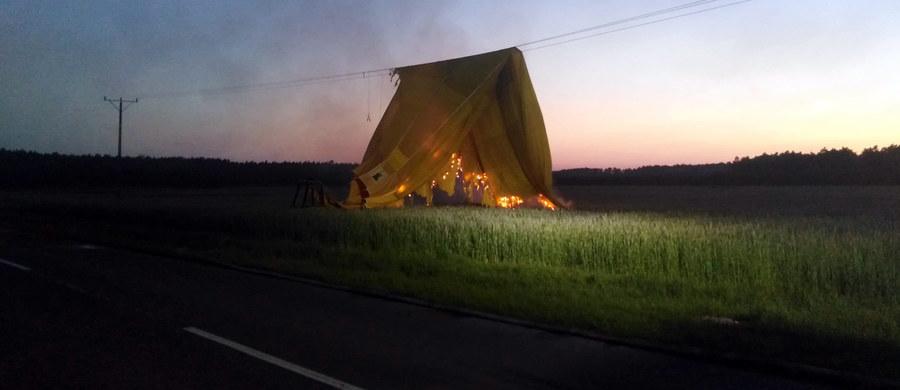 Między Kębłowem a Świętnem (woj. wielkopolskie) na linię energetyczną spadł balon. Informację o tym zdarzeniu dostaliśmy na Gorącą Linię RMF FM.