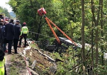 Tragiczny wypadek we Włoszech. Autokar spadł ze skarpy