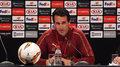 Liga Europy. Emery (Arsenal): Wolałbym, aby większość kibiców była z Arsenalu i z Chelsea. Wideo