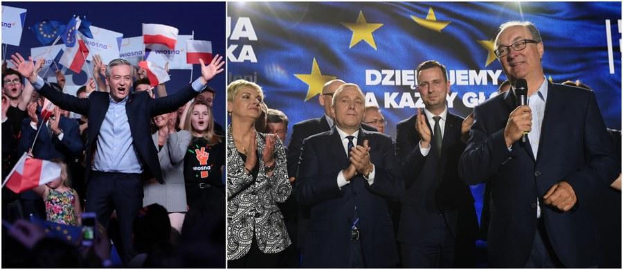 """""""Wzięliśmy 6 procent w skali kraju - tak nawiasem: tyle samo, ile Robert Biedroń"""" - tak lider SLD Włodzimierz Czarzasty podsumował w programie Onet Rano wyniki Sojuszu w ramach Koalicji Europejskiej i Wiosny w niedzielnych wyborach do Parlamentu Europejskiego. Z ironią odnosił się do postaci lidera Wiosny i 11-procentowego poparcia dla jego partii w Słupsku, którego Robert Biedroń był prezydentem. """"Jak na prezydenta tysiąclecia, króla Karpat, wydaje mi się, że to nie jest jakiś rewelacyjny wynik"""" - stwierdził."""