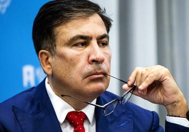 """Saakaszwili wrócił na Ukrainę. """"Nie przyjechałem, żeby się mścić"""""""
