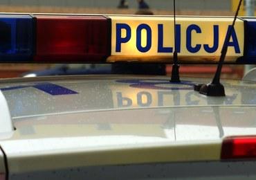Pościg na Dolnym Śląsku. Auto uderzyło w mur kościoła