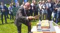 Cracovia. Uroczyste wmurowanie kamienia węgielnego pod budowę bazy w Rącznej. Wideo