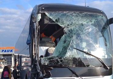 Wypadek polskiego autobusu z dziećmi w Austrii