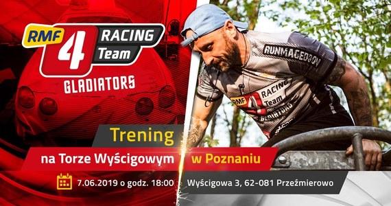 Siódmego czerwca drużyna RMF4RT Gladiators zaprasza na otwarty trening na Torze Wyścigowym w Przeźmierowie koło Poznania.