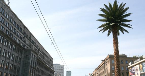 """Za trzy tygodnie instalacja Joanny Rajkowskiej """"Pozdrowienia z Alej Jerozolimskich"""", znana jako palma na rondzie de Gaulle'a w Warszawie, powróci do swojego poprzedniego kształtu. """"Odzyska zielone liście"""" – poinformowała artystka."""
