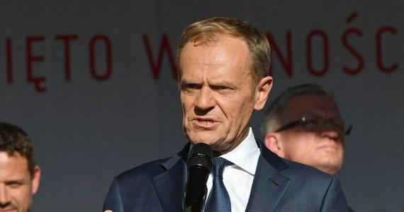 """""""Polska to jest wciąż najpiękniejsze miejsce na ziemi, a Polacy to wielki i dumny europejski naród, nawet jeśli nie zawsze mamy szczęście do władzy"""" - powiedział we wtorek w Gdańsku przewodniczący Rady Europejskiej, b. premier Donald Tusk."""