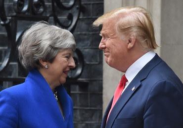 Trump w Londynie odchodzi od protokołu i spotyka się z politykami