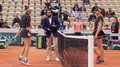 Roland Garros. Vondrousova pokonuje w półfinale Kontę. Wideo