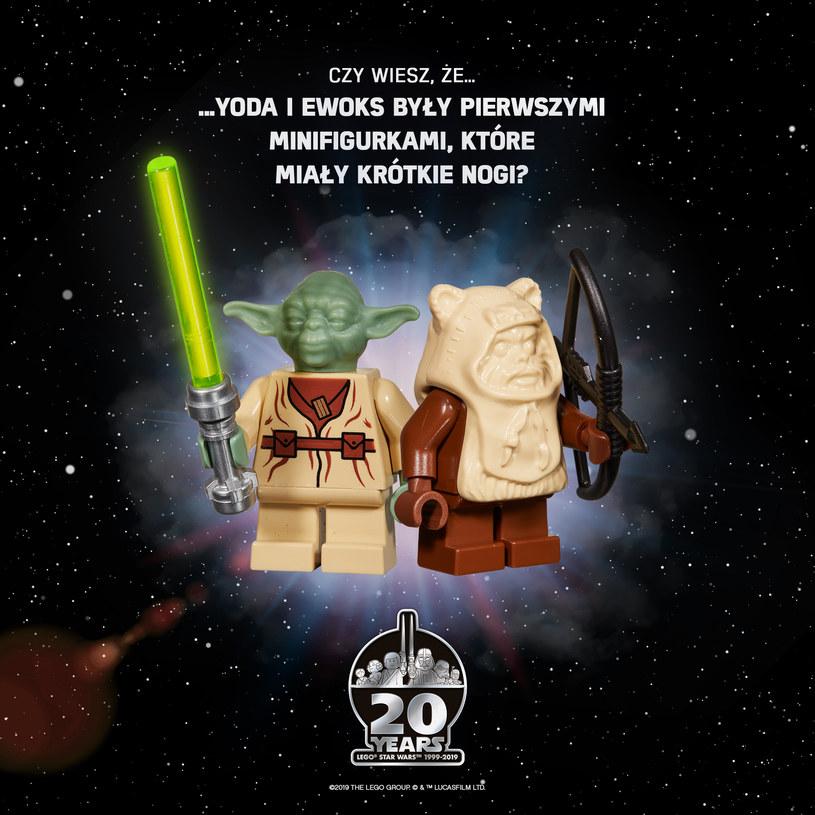 """Seria LEGO """"Star Wars"""" obchodzi w tym roku swoje 20-lecie. W 1998 roku firma LEGO podpisała umowę licencyjną z firmą LucasFilm, która wyprodukowała kultowe filmy Gerorge'a Lucasa, w 1999 roku na Międzynarodowych Targach Zabawek w Nowym Jorku odbyła się premiera serii LEGO """"Star Wars""""."""